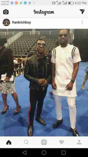 Patoranking And Frank Edwards Pictured Together After Church Service